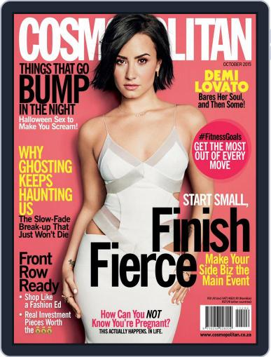 Cosmopolitan South Africa (Digital) October 5th, 2015 Issue Cover