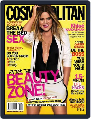 Cosmopolitan South Africa (Digital) February 1st, 2015 Issue Cover