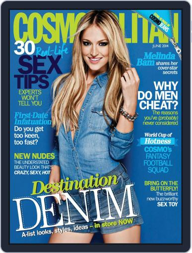 Cosmopolitan South Africa (Digital) May 19th, 2014 Issue Cover