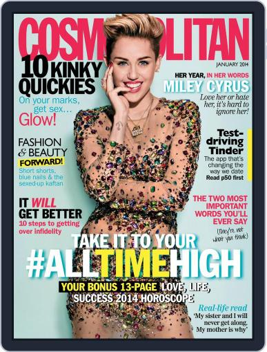 Cosmopolitan South Africa December 16th, 2013 Digital Back Issue Cover