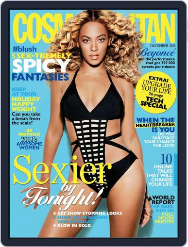 Cosmopolitan South Africa (Digital) November 17th, 2013 Issue Cover