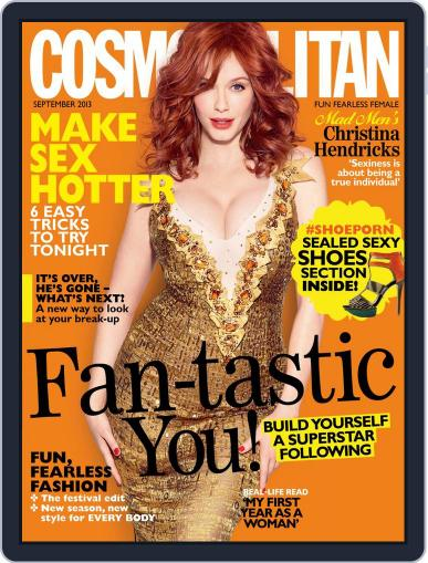 Cosmopolitan South Africa (Digital) August 18th, 2013 Issue Cover
