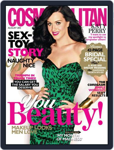 Cosmopolitan South Africa July 21st, 2013 Digital Back Issue Cover