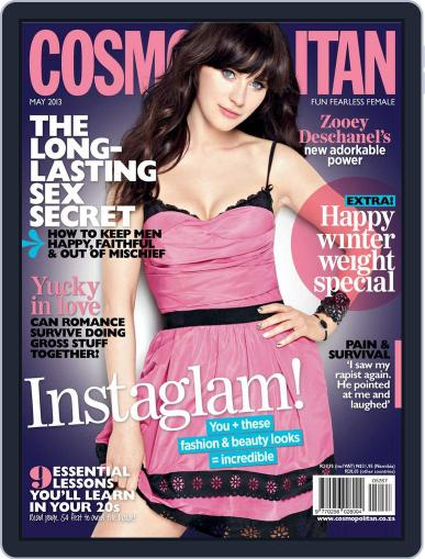 Cosmopolitan South Africa (Digital) April 22nd, 2013 Issue Cover