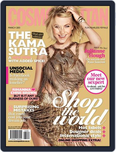 Cosmopolitan South Africa (Digital) February 17th, 2013 Issue Cover