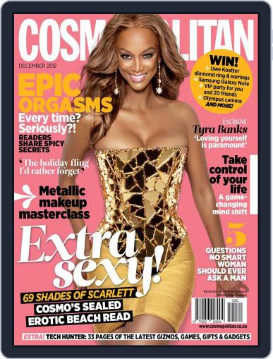Cosmopolitan South Africa (Digital) November 18th, 2012 Issue Cover