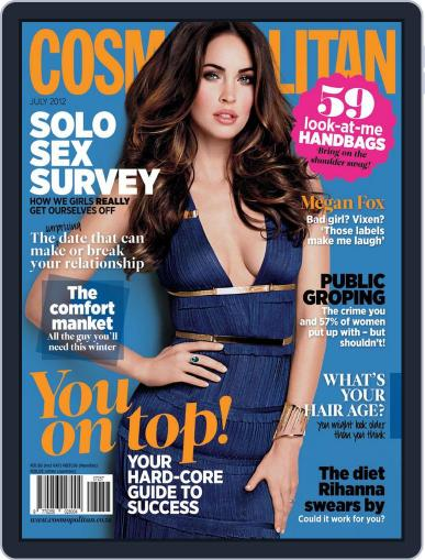 Cosmopolitan South Africa (Digital) June 18th, 2012 Issue Cover