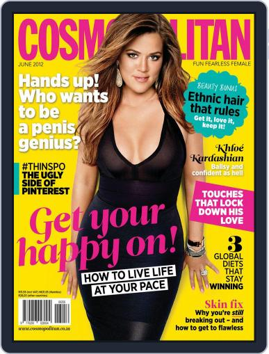 Cosmopolitan South Africa May 21st, 2012 Digital Back Issue Cover