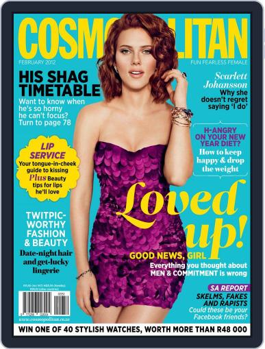 Cosmopolitan South Africa January 17th, 2012 Digital Back Issue Cover