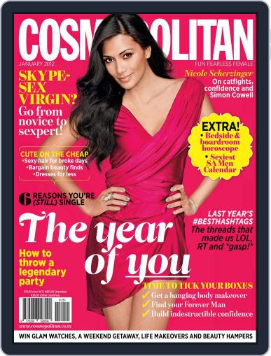 Cosmopolitan South Africa (Digital) December 20th, 2011 Issue Cover