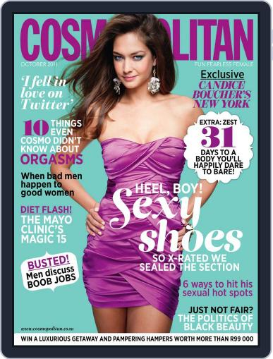 Cosmopolitan South Africa (Digital) September 20th, 2011 Issue Cover
