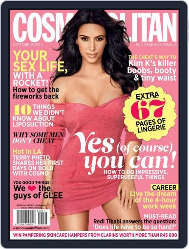 Cosmopolitan South Africa (Digital) August 23rd, 2011 Issue Cover