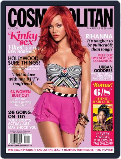 Cosmopolitan South Africa June 29th, 2011 Digital Back Issue Cover
