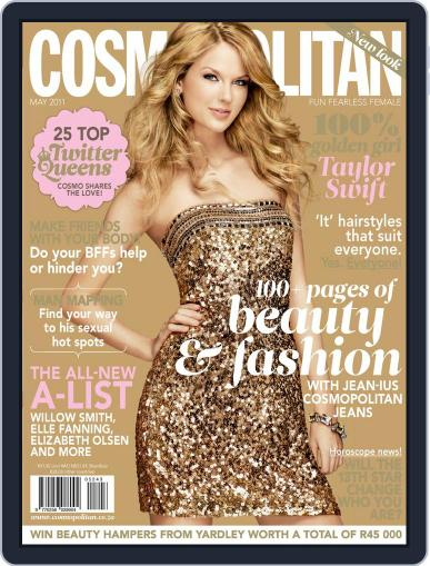 Cosmopolitan South Africa (Digital) April 18th, 2011 Issue Cover