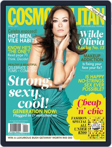 Cosmopolitan South Africa (Digital) March 15th, 2011 Issue Cover