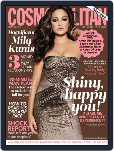 Cosmopolitan South Africa February 15th, 2011 Digital Back Issue Cover
