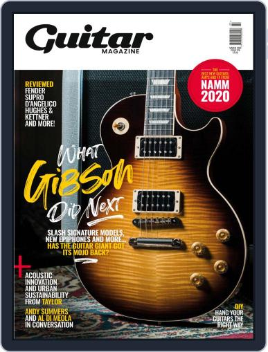 Guitar (Digital) March 1st, 2020 Issue Cover