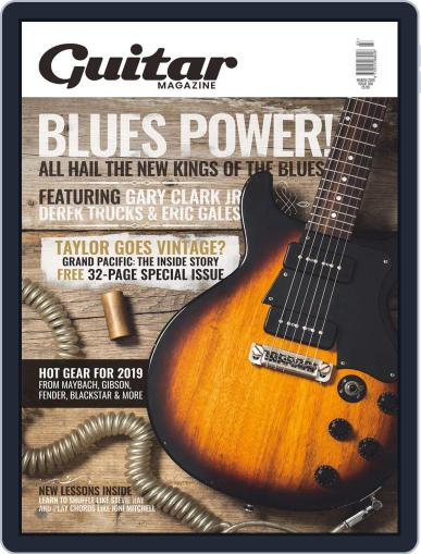 Guitar (Digital) March 1st, 2019 Issue Cover