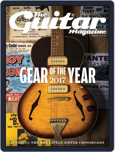 Guitar (Digital) January 1st, 2018 Issue Cover
