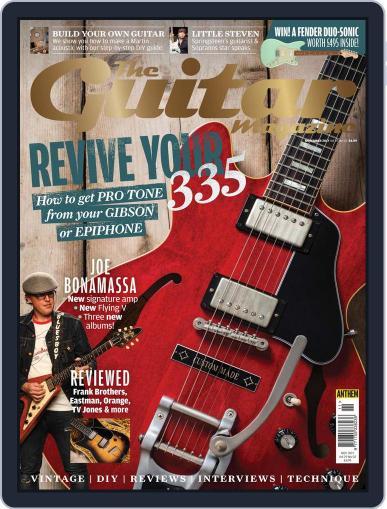 Guitar (Digital) November 1st, 2017 Issue Cover