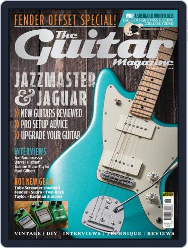 Guitar August 1st, 2017 Digital Back Issue Cover