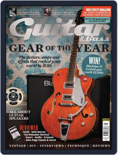 Guitar January 1st, 2017 Digital Back Issue Cover
