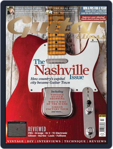 Guitar (Digital) February 1st, 2016 Issue Cover