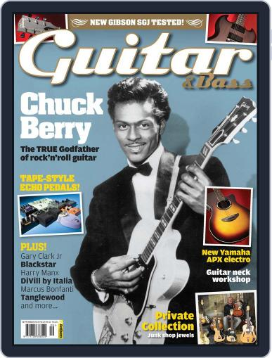 Guitar August 1st, 2013 Digital Back Issue Cover