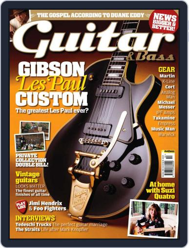 Guitar (Digital) August 31st, 2011 Issue Cover