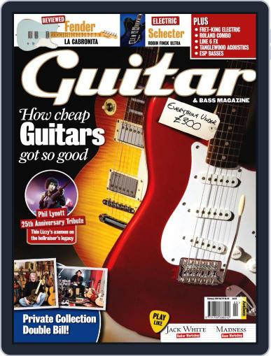 Guitar (Digital) January 4th, 2011 Issue Cover