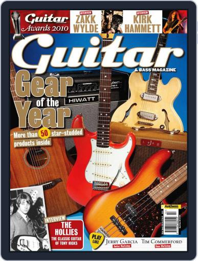 Guitar November 5th, 2010 Digital Back Issue Cover