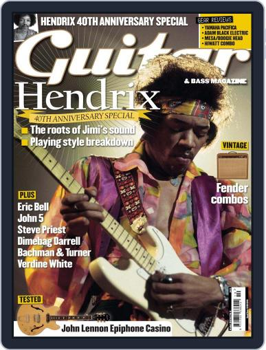 Guitar (Digital) August 6th, 2010 Issue Cover
