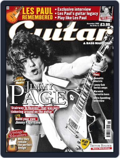 Guitar (Digital) September 11th, 2009 Issue Cover