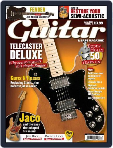 Guitar (Digital) January 29th, 2009 Issue Cover