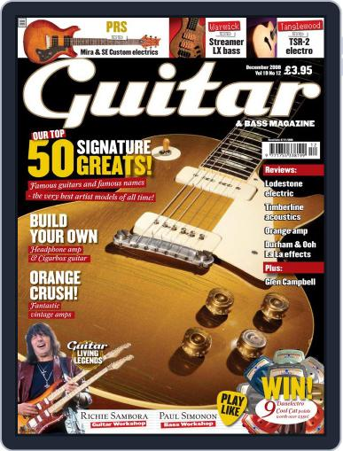 Guitar October 7th, 2008 Digital Back Issue Cover