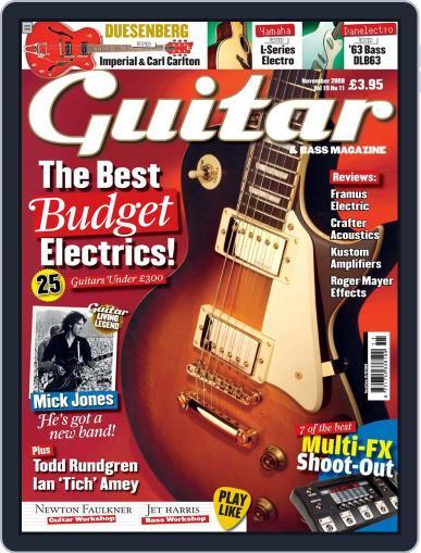 Guitar (Digital) September 15th, 2008 Issue Cover