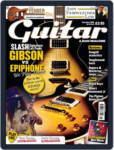 Guitar (Digital) July 21st, 2008 Issue Cover