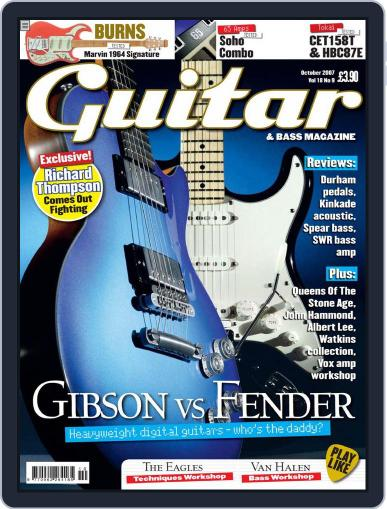 Guitar August 14th, 2007 Digital Back Issue Cover