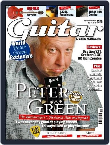 Guitar August 6th, 2007 Digital Back Issue Cover
