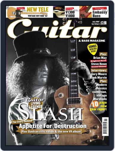 Guitar May 28th, 2007 Digital Back Issue Cover