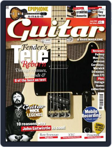 Guitar (Digital) May 24th, 2007 Issue Cover
