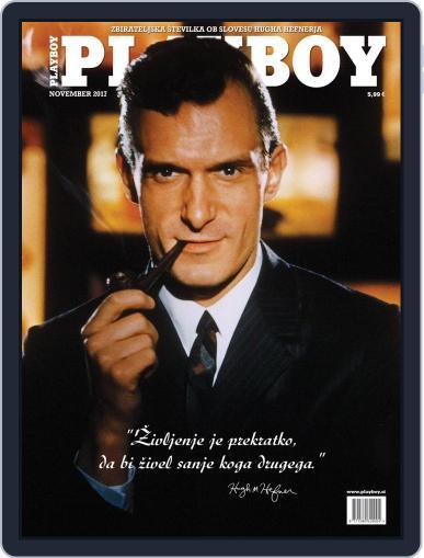 Playboy Slovenija November 1st, 2017 Digital Back Issue Cover
