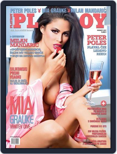 Playboy Slovenija March 1st, 2017 Digital Back Issue Cover