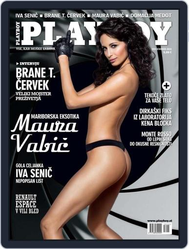 Playboy Slovenija November 13th, 2015 Digital Back Issue Cover