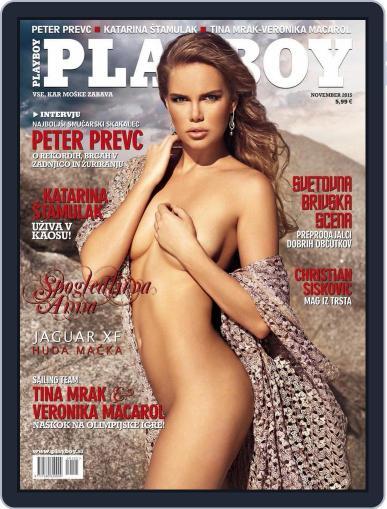 Playboy Slovenija (Digital) October 31st, 2015 Issue Cover