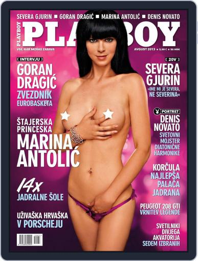 Playboy Slovenija (Digital) August 1st, 2013 Issue Cover