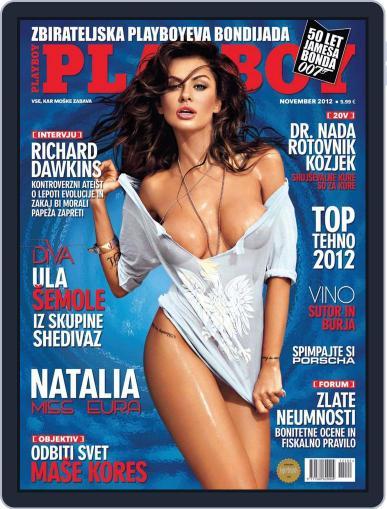 Playboy Slovenija (Digital) October 12th, 2012 Issue Cover