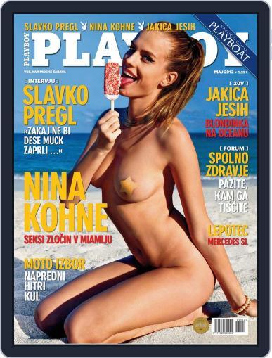 Playboy Slovenija (Digital) May 1st, 2012 Issue Cover