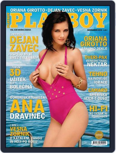 Playboy Slovenija October 25th, 2010 Digital Back Issue Cover