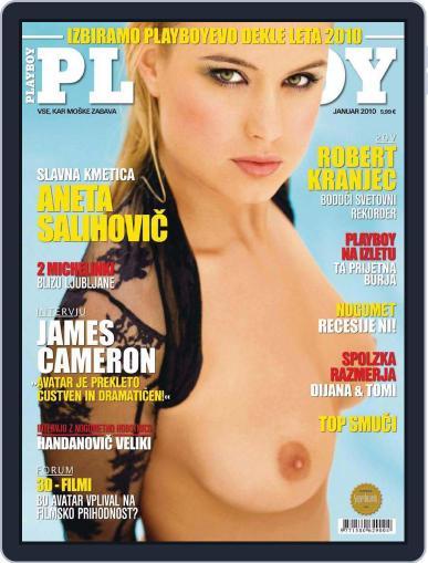Playboy Slovenija (Digital) January 1st, 2010 Issue Cover